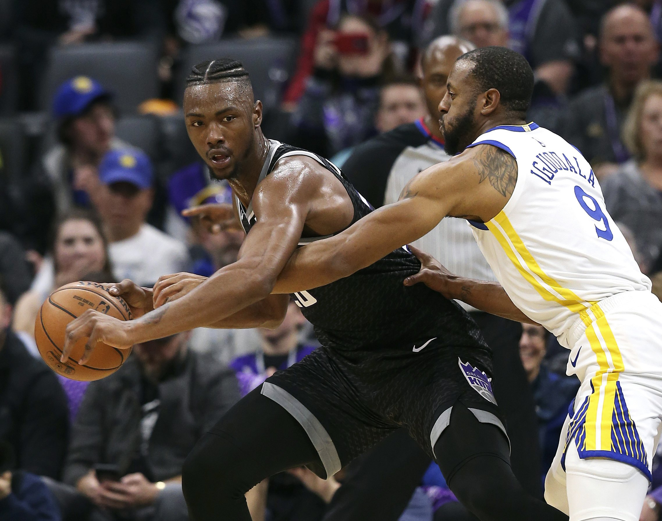 Hield, Kings come up short against Golden State