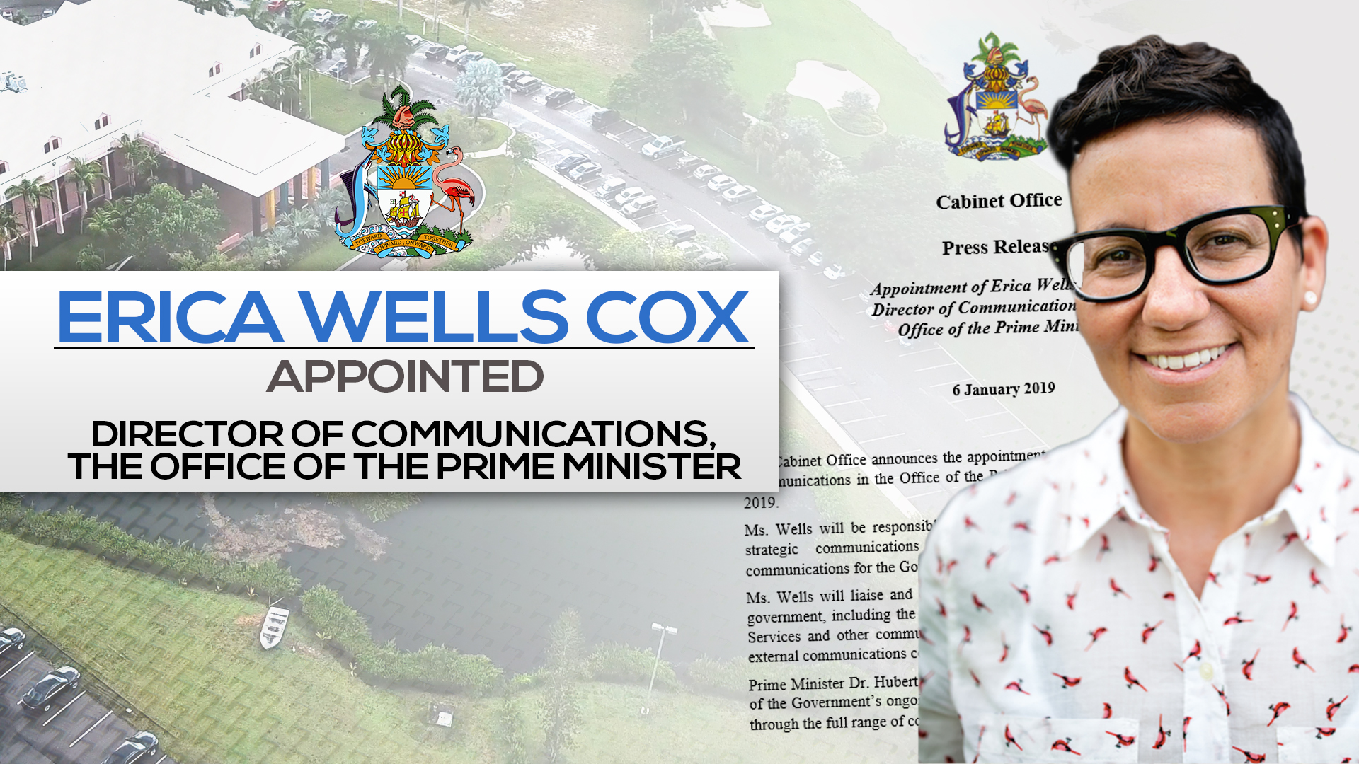 Erica Wells-Cox appointed as Director of Communications in the OPM