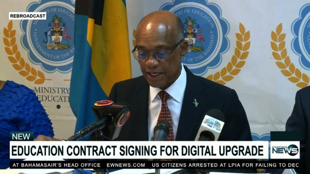 MOE signs contracts to digitize public schools, offices