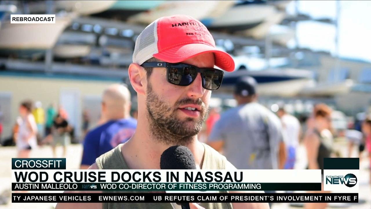 WOD on the Waves cruise docks in Nassau