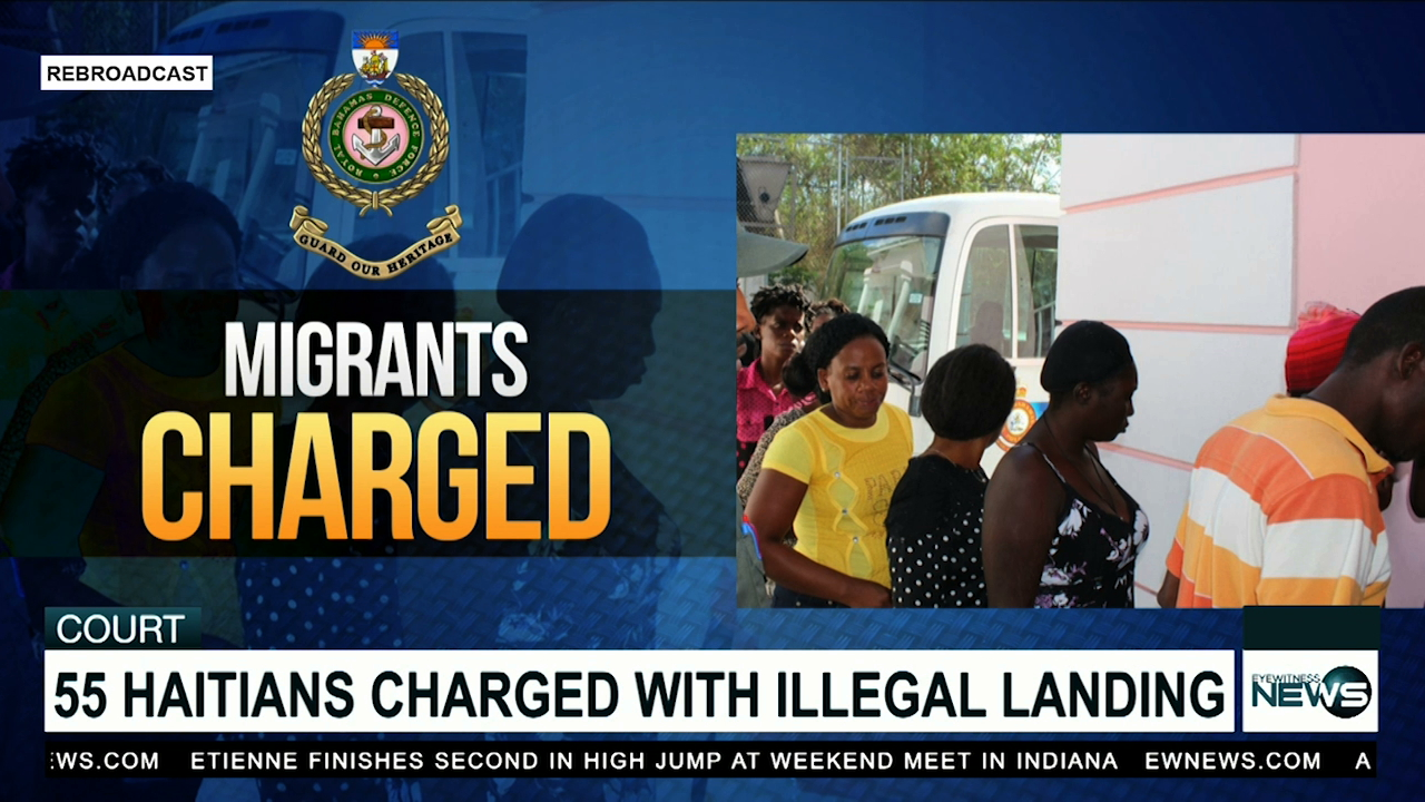 Haitian migrants charged with illegal landing
