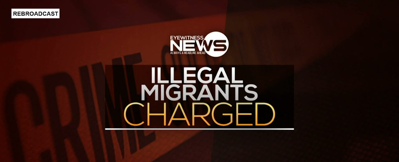 Illegals charged in court on various counts