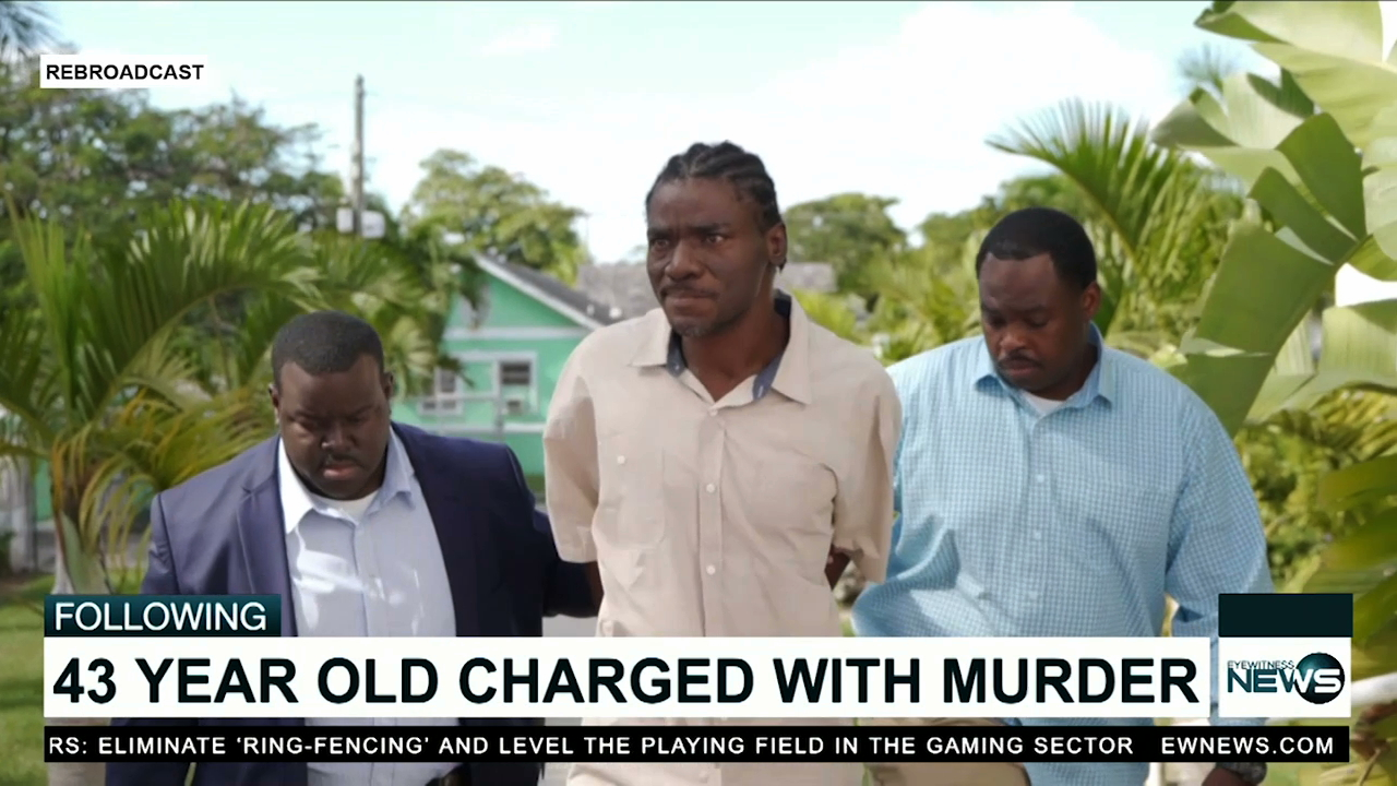 Man charged with the country's first murder