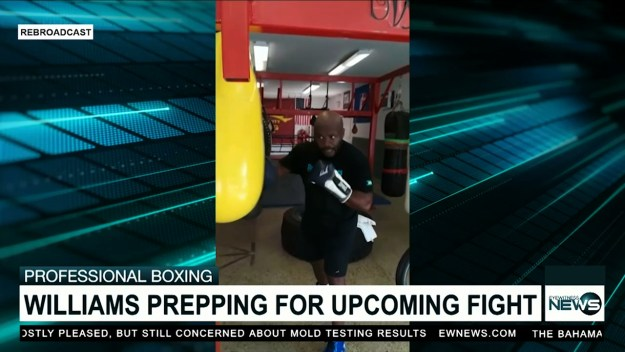 Williams preparing for upcoming fight