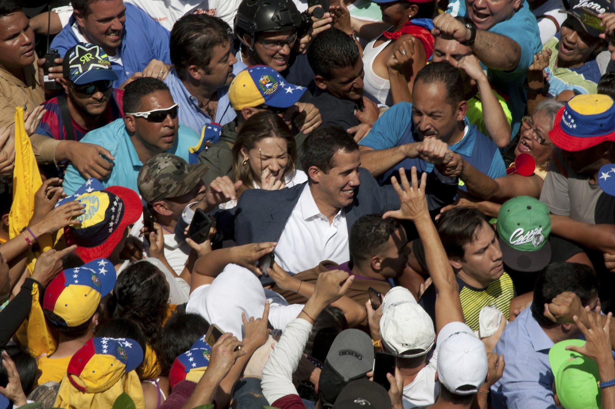 EU countries step up pressure on Venezuela's defiant Maduro