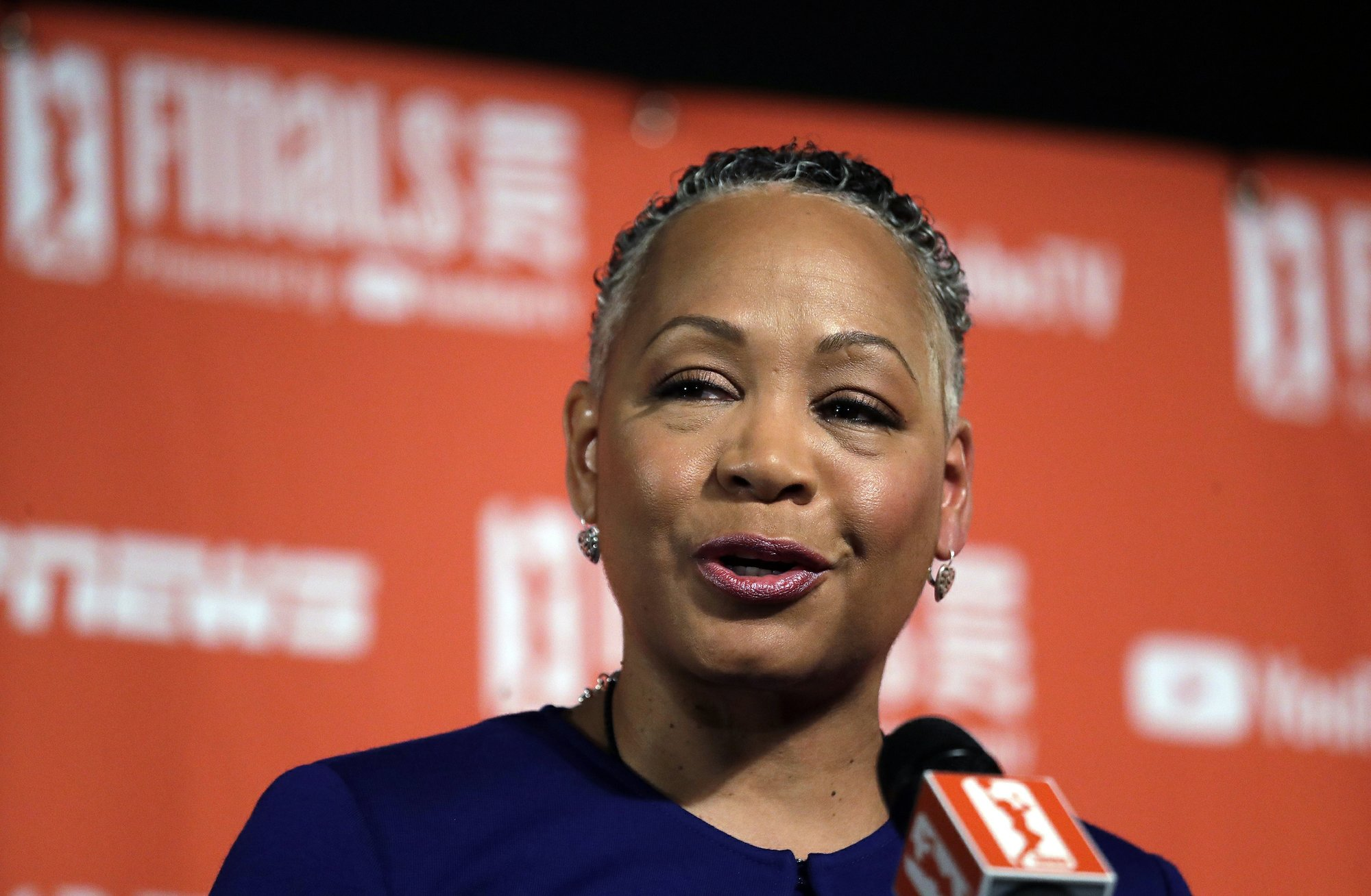Lisa Borders steps down as head of Time's Up organization