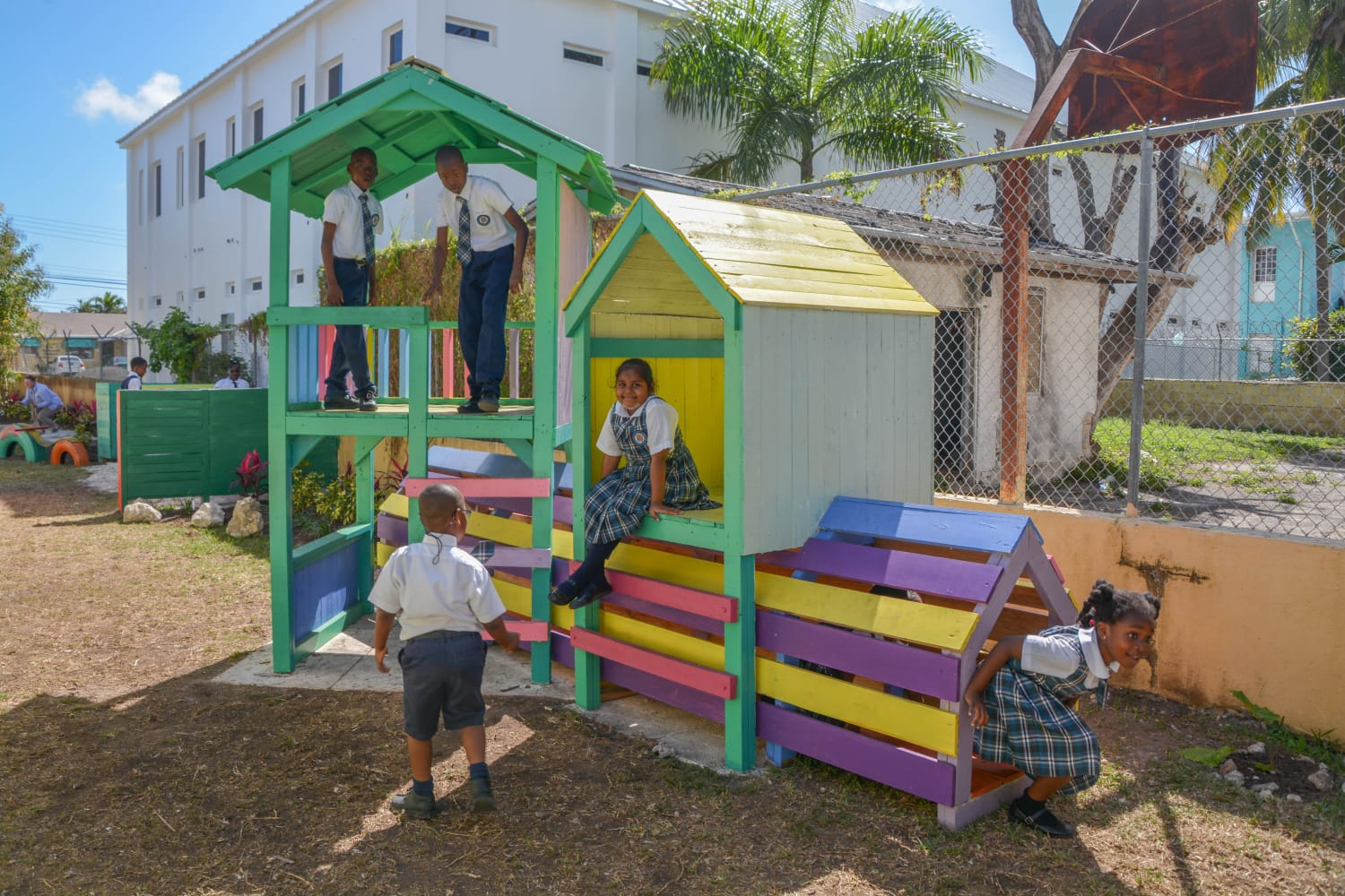 Bahamas Waste encourages 'The Power of Play' at Centerville Primary School