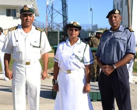 RBDF's first female warrant officer retires