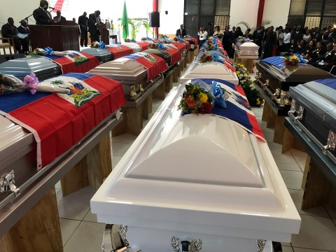 Unknown smuggling victims laid to rest