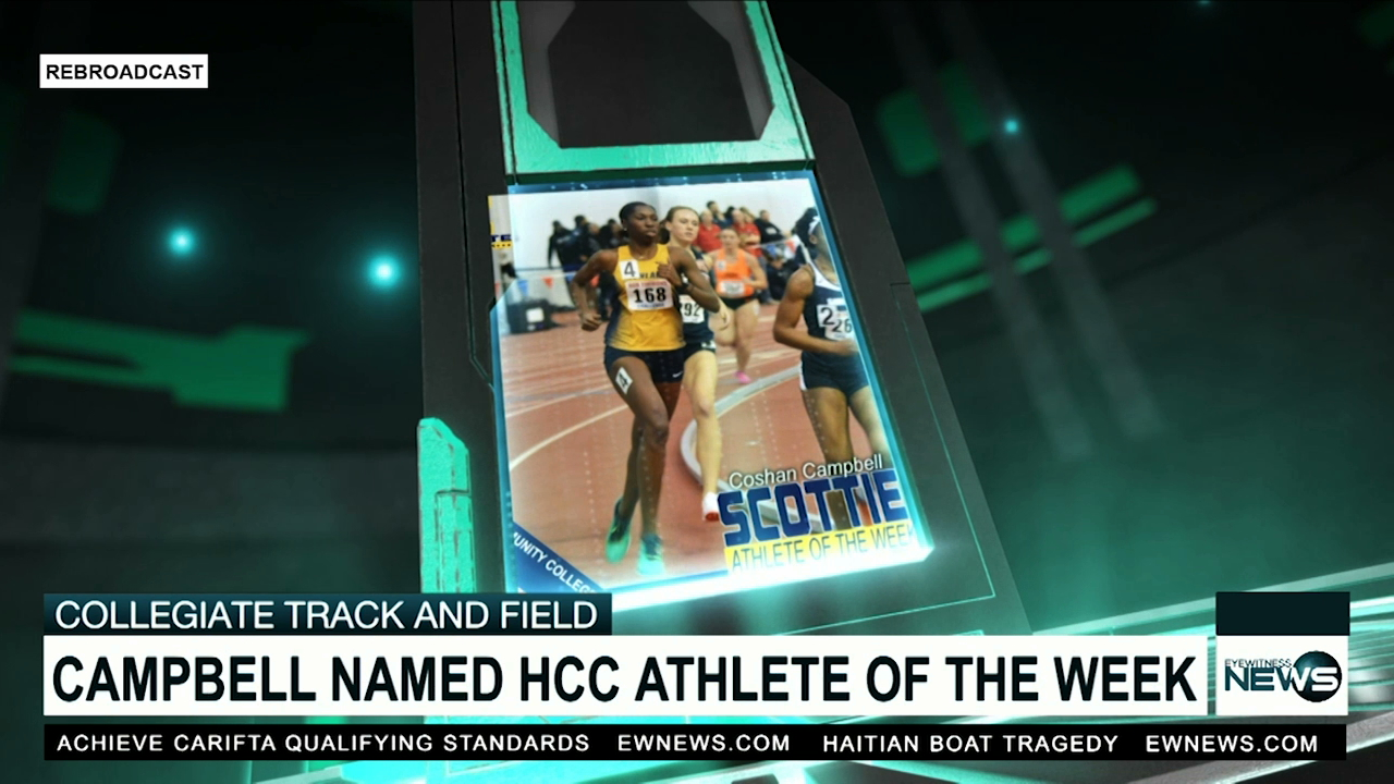 Campbell named HCC athlete of the week