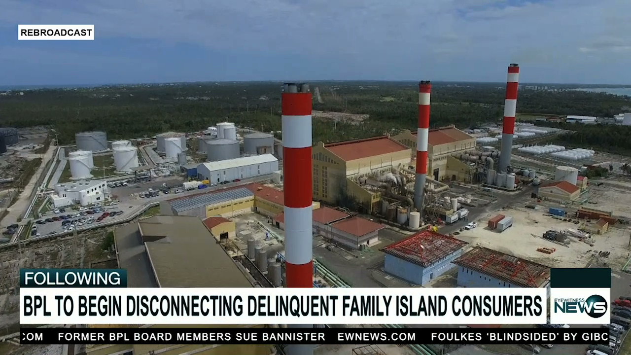 BPL to disconnect delinquent Family Island consumers