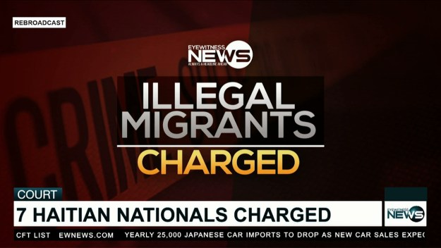 Haitian nationals charged with illegal landing