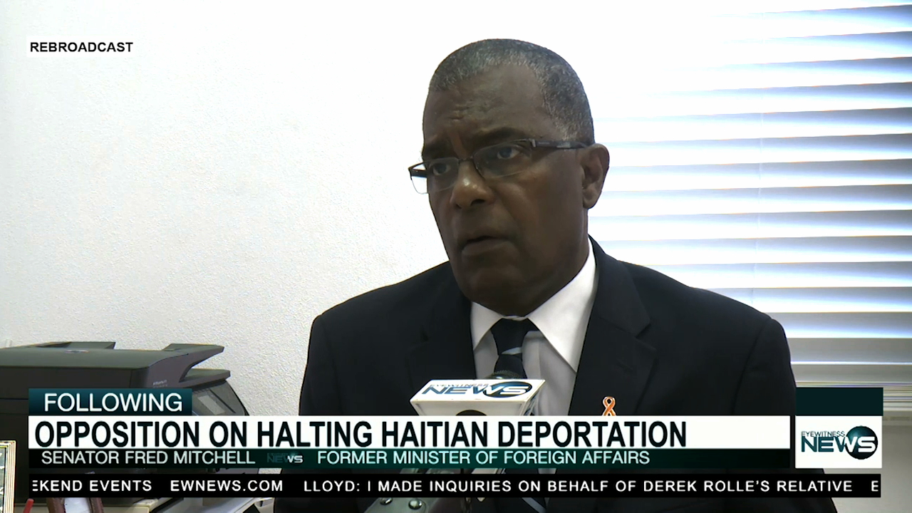 Mitchell weighs in on halted deportations to Haiti