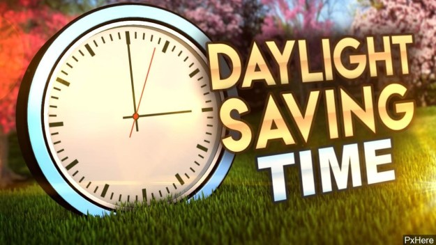 Spring Forward! DST begins Sunday at 2:00 a.m.
