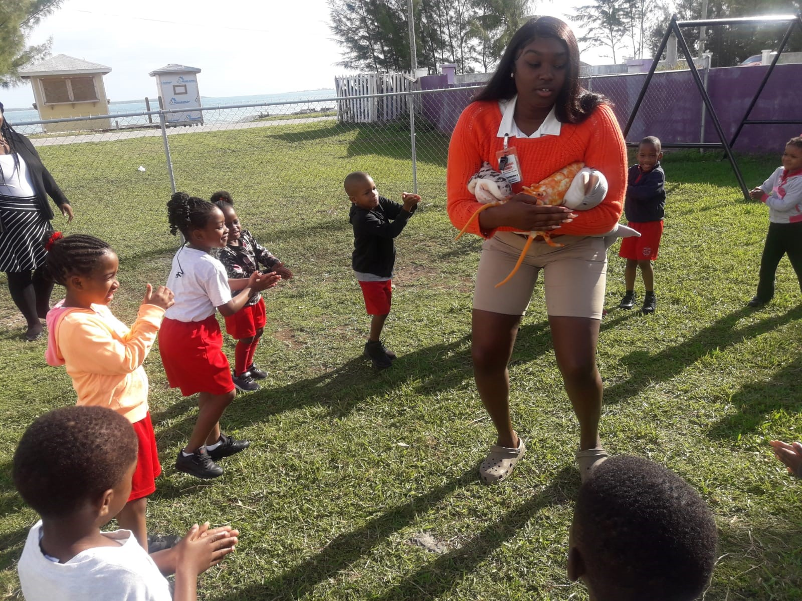 Blue Lagoon teaches marine awareness, conservation to Abaco students