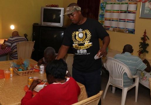 Customs social club hosts lunch for seniors