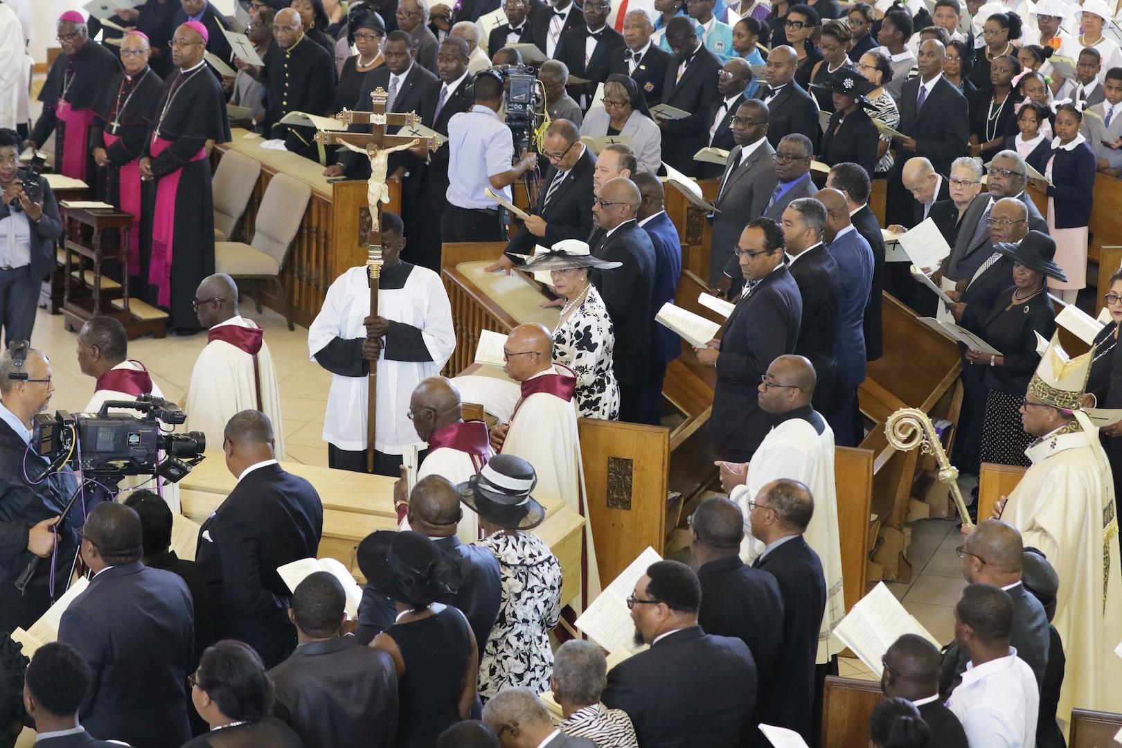Monsignor Preston Moss laid to rest