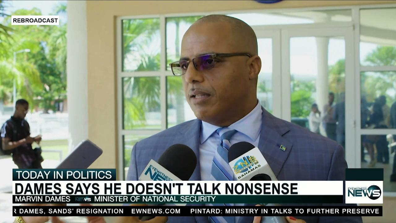 """Dames: """"Come on, I don't talk nonsense"""""""