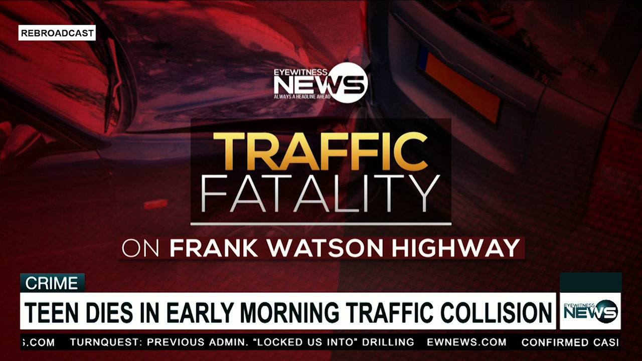Teen dies in early morning traffic collision