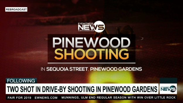 Two shot in Pinewood