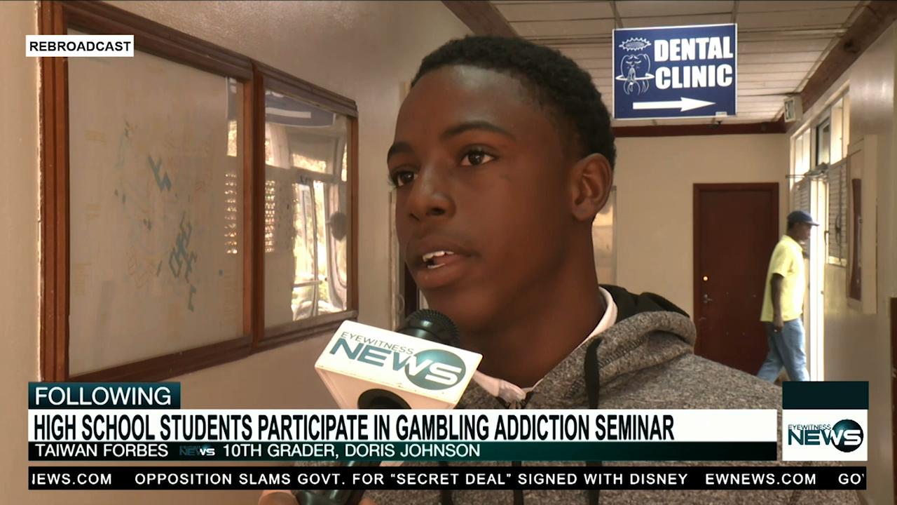 Students participate in gambling addiction seminar