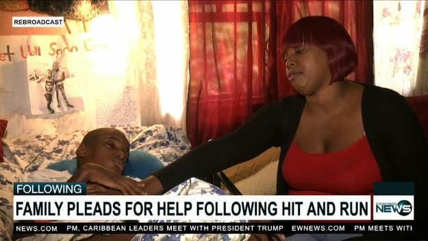 Teen left in a vegetative state after traffic accident