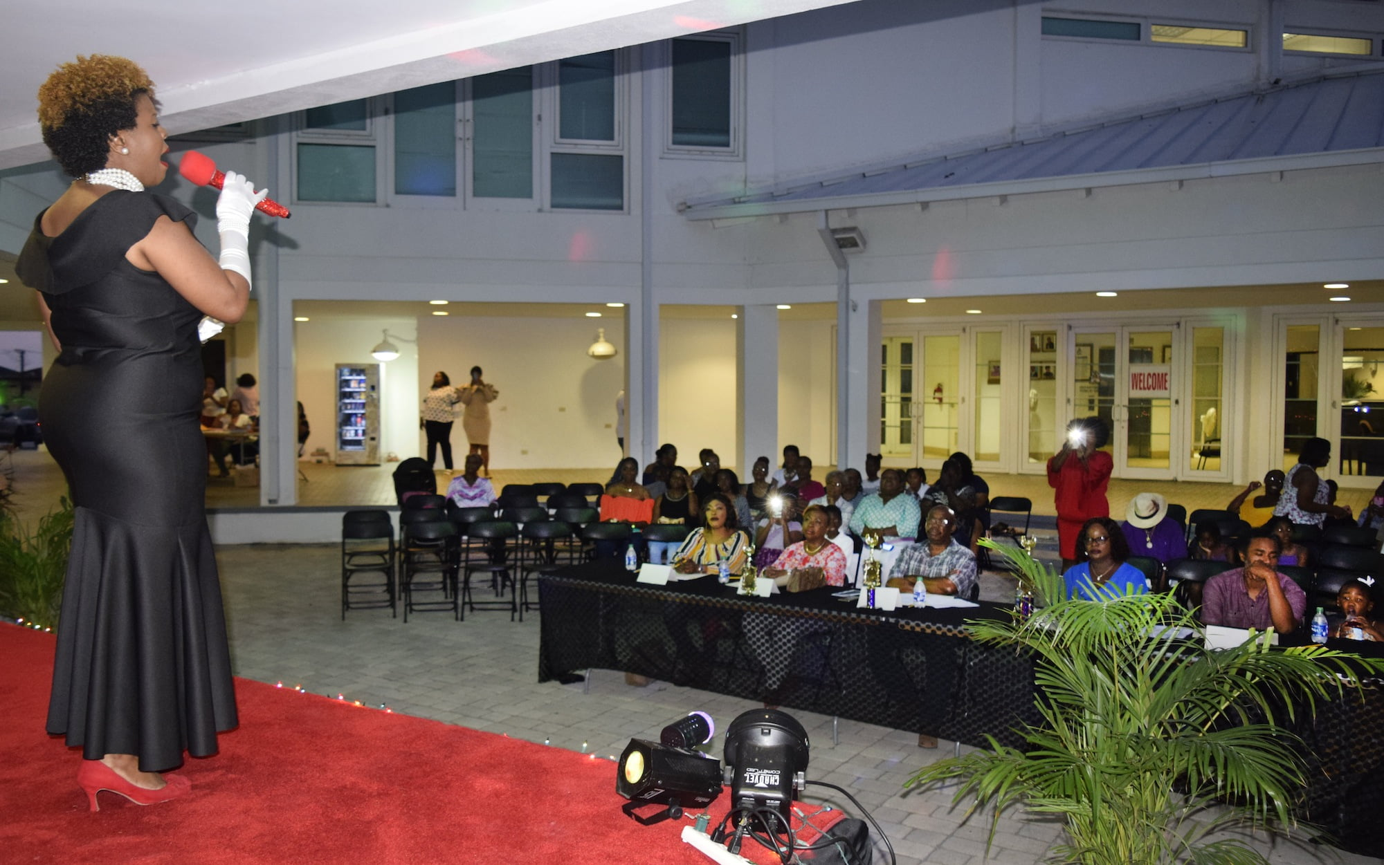 Department of Public Health holds talent show fundraiser for nurses' month