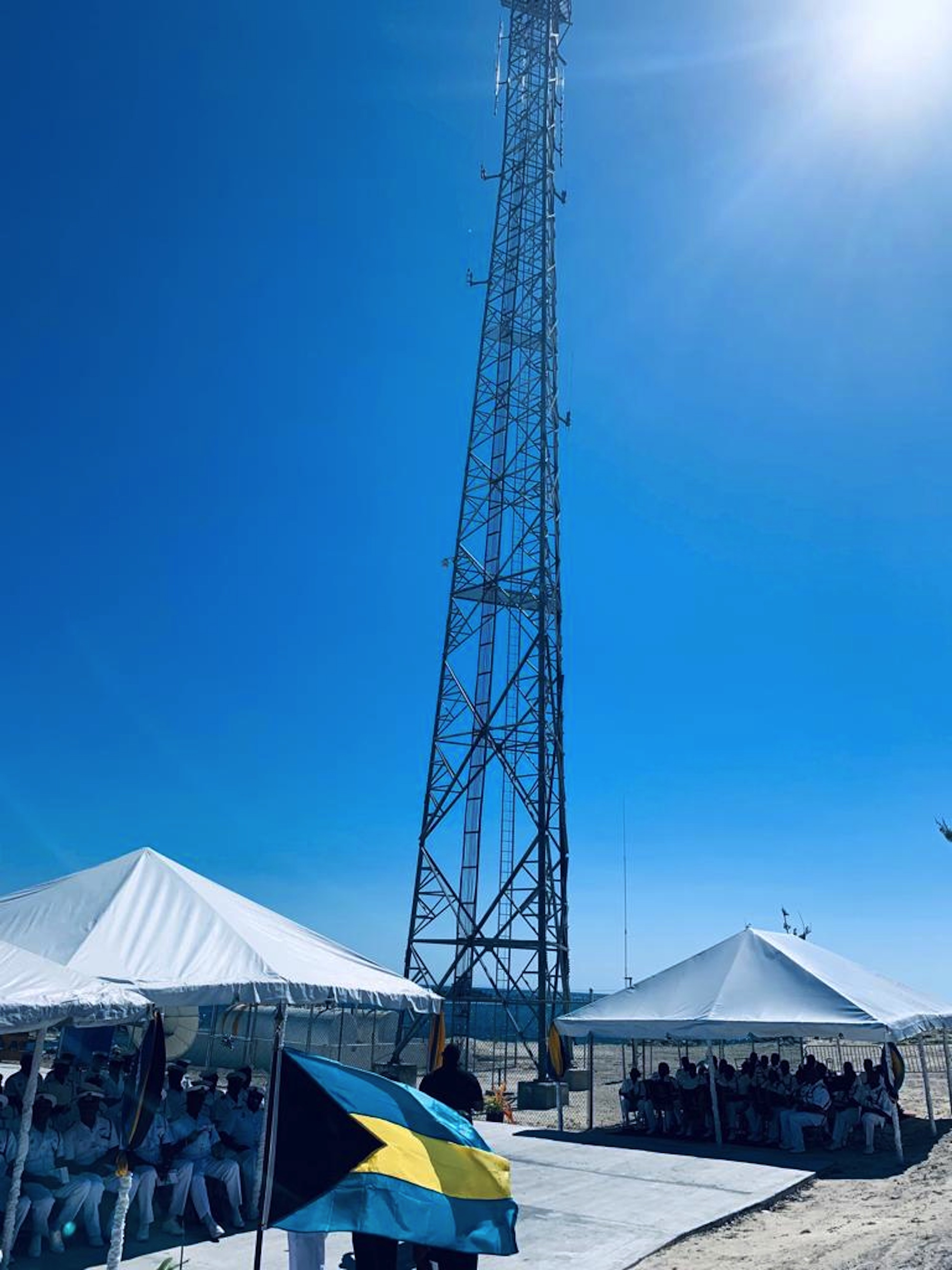 $2mil long range radar system commissioned at RBDF Inagua Base