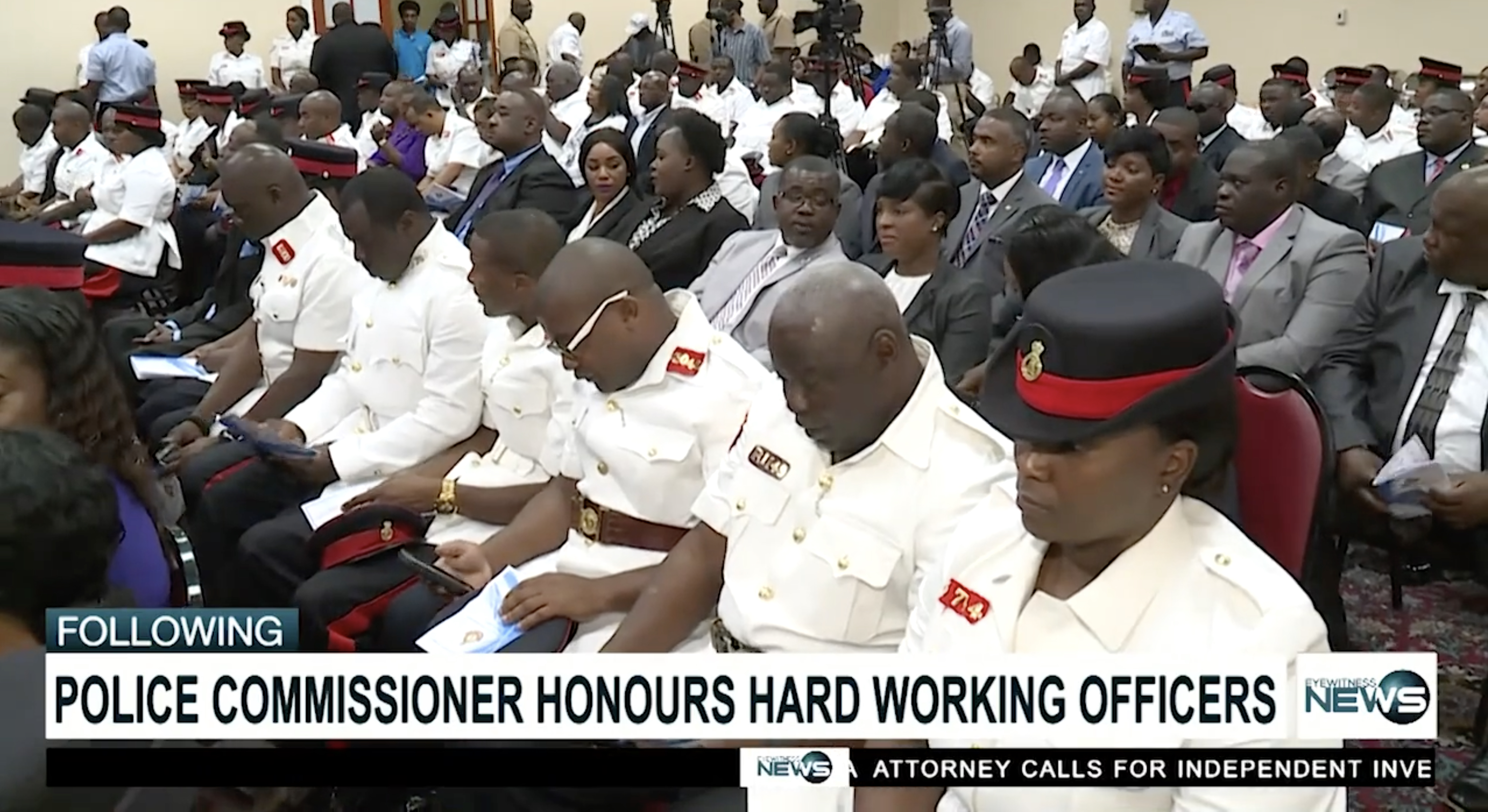 Police Commissioner commends hundreds of officers