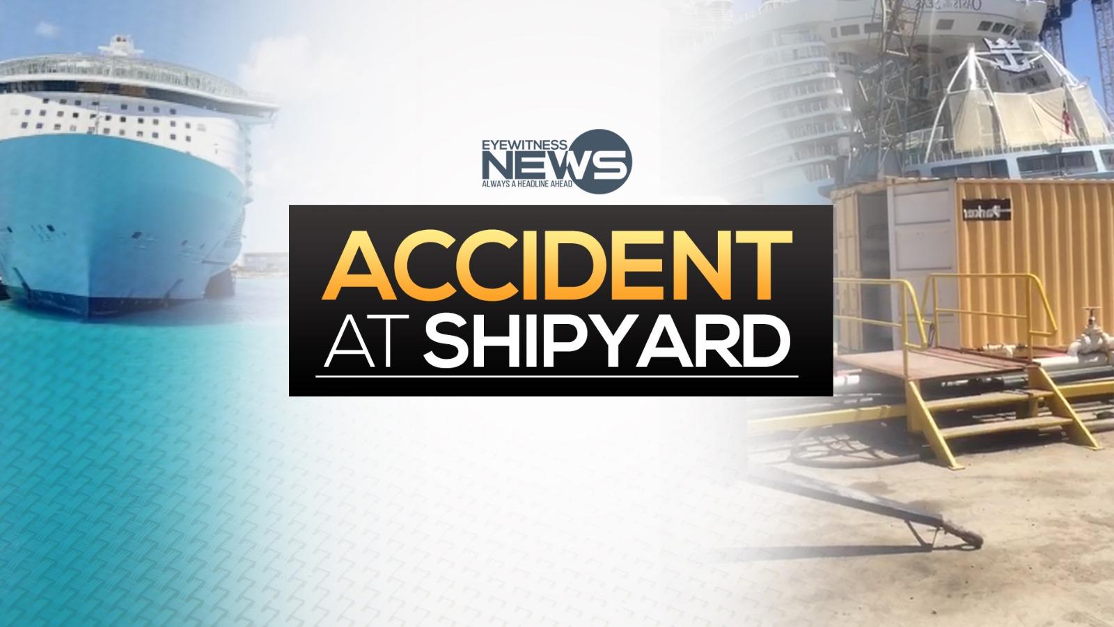 Eight injured at Grand Bahama shipyard