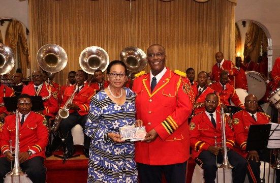 Bahama Brass Band gives concert in honour of Governor General