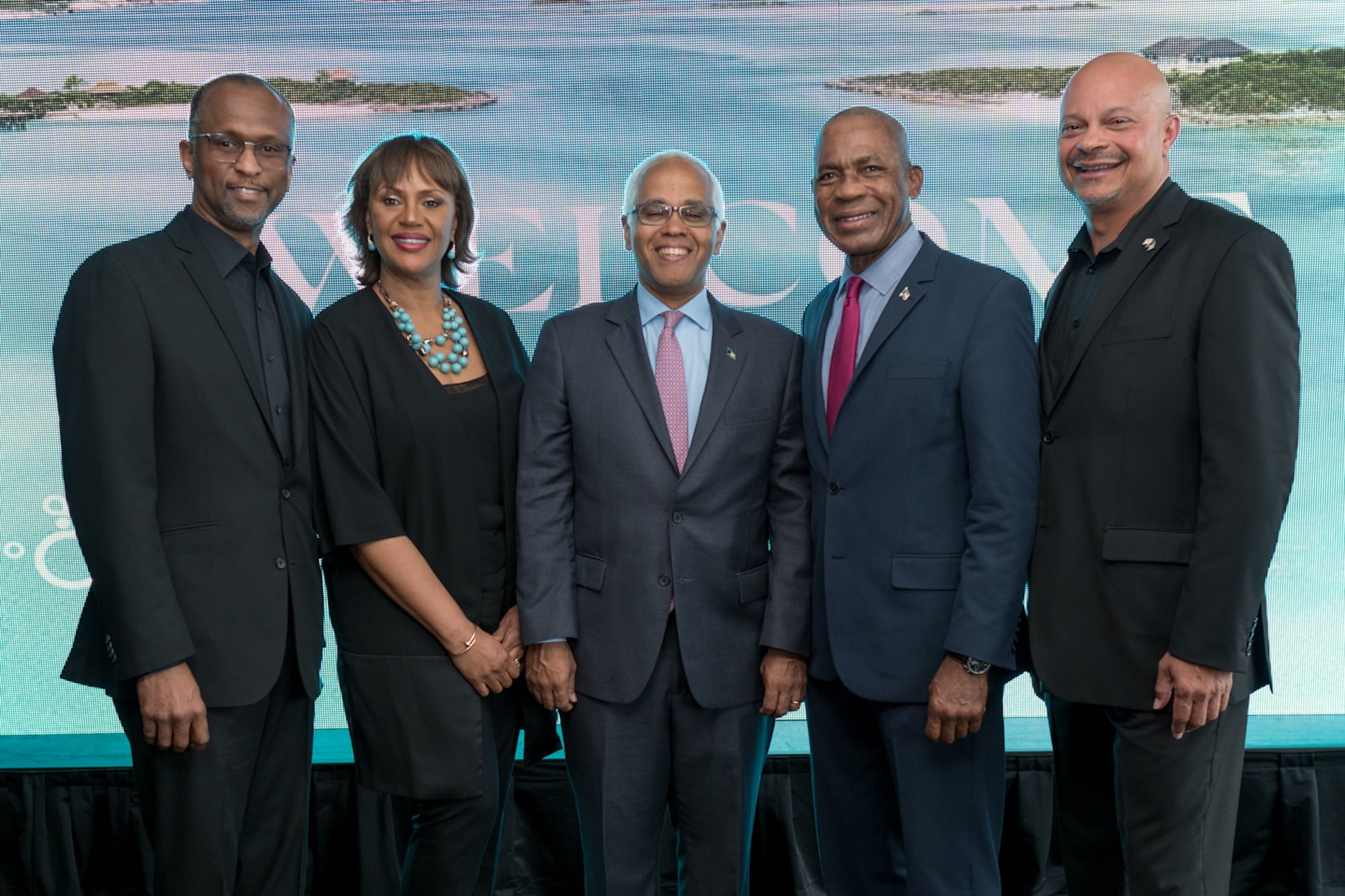 New Orleans mayor welcomed Bahamas tourism minister at New Orleans jazz festival