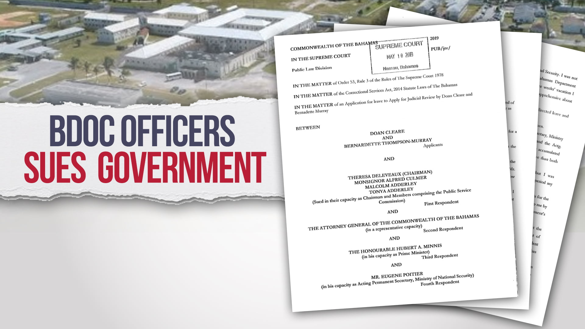 BDOCS employees file affidavits to declare Murphy's appointment invalid