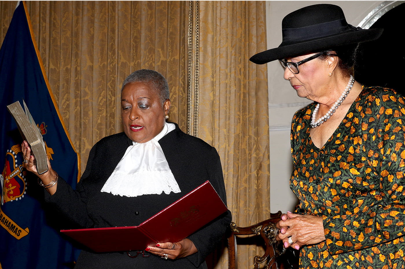 Ruth Bowe-Darville Sworn in as Justice of the Supreme Court