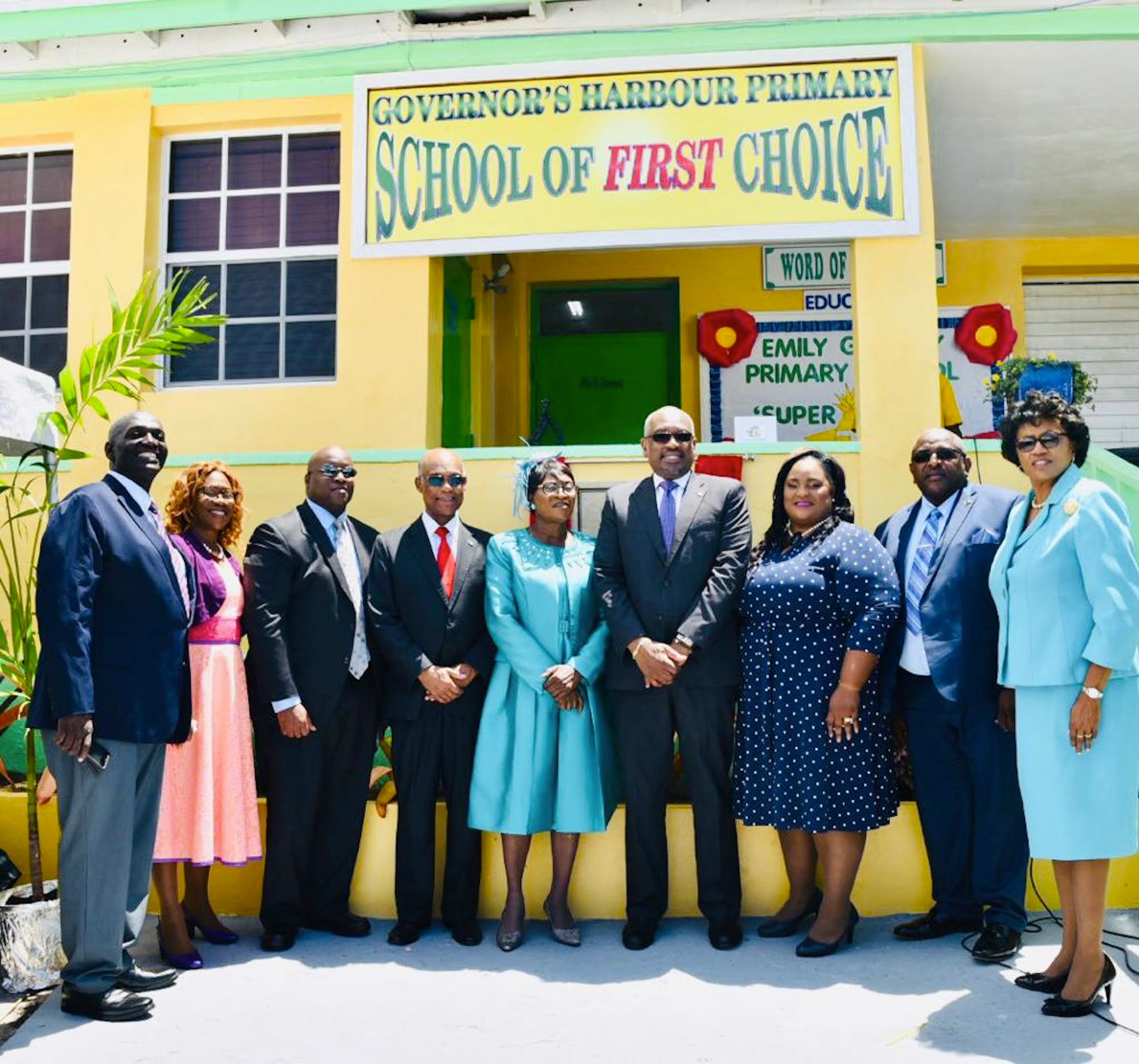 Governor's Harbour Primary School renamed Emily Georgenia Petty Primary School