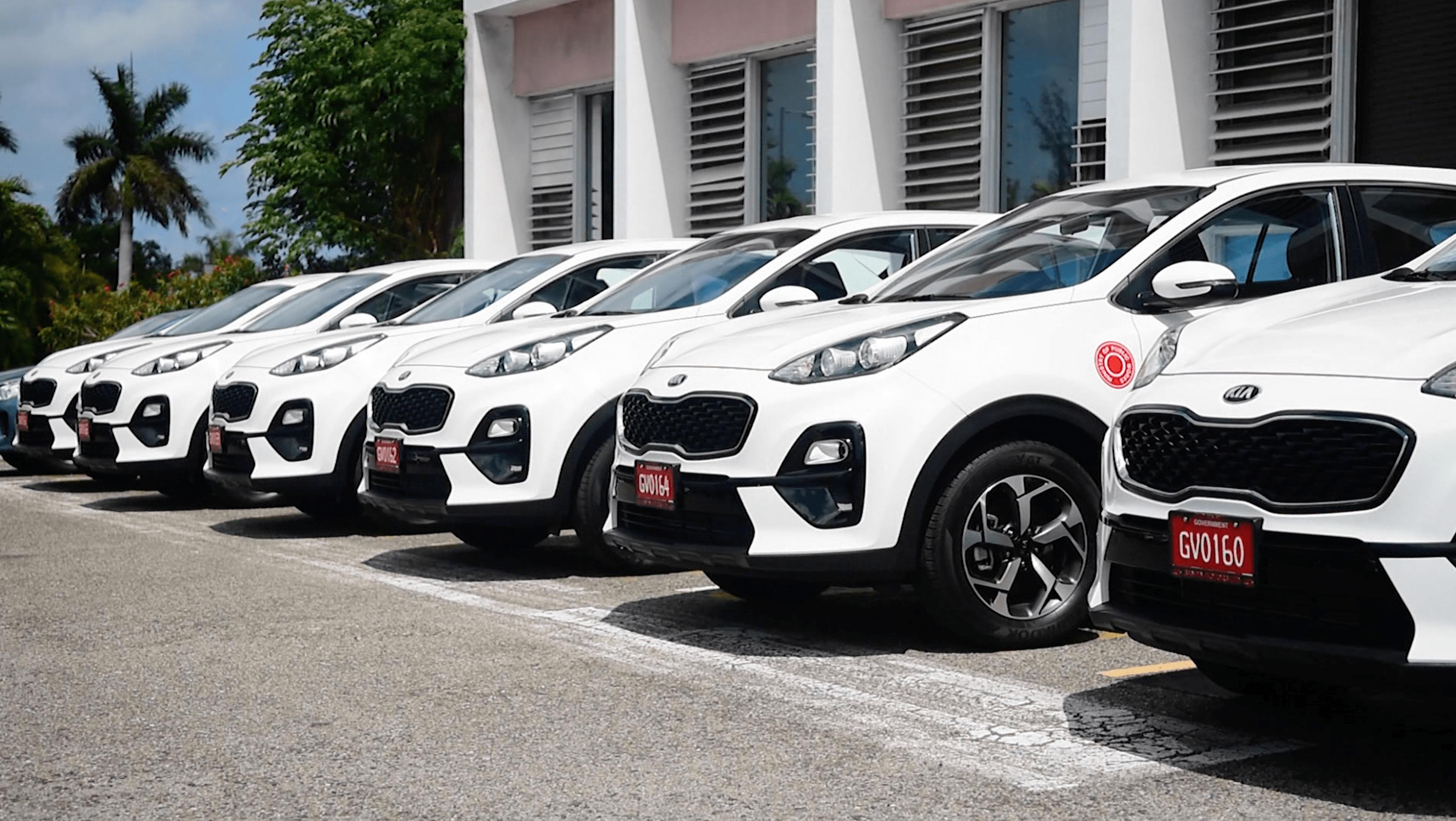 New fleet of vehicles to improve efficiency of Public Works
