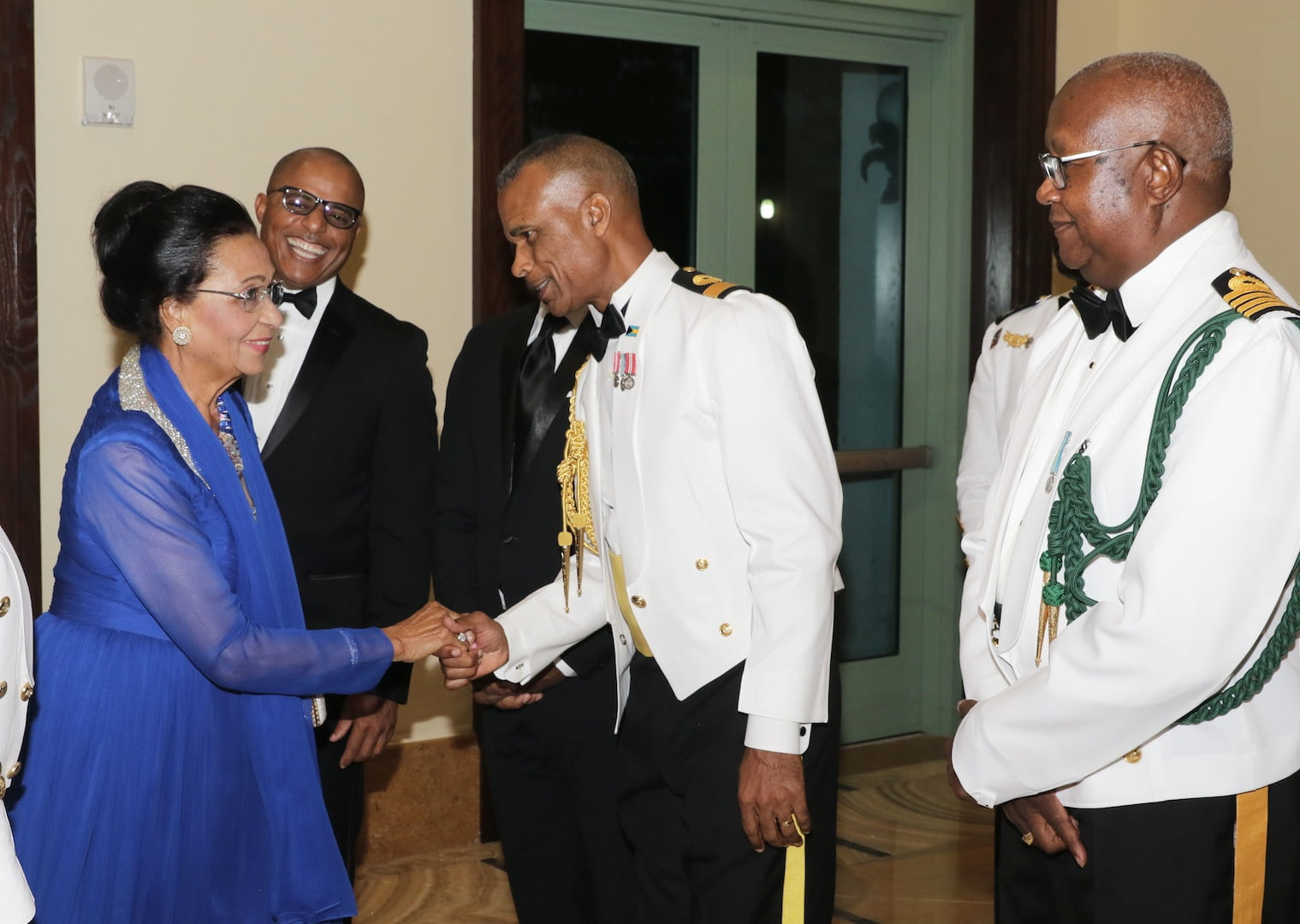 Governor General attends the Royal Bahamas Defence Force Annual Military Ball