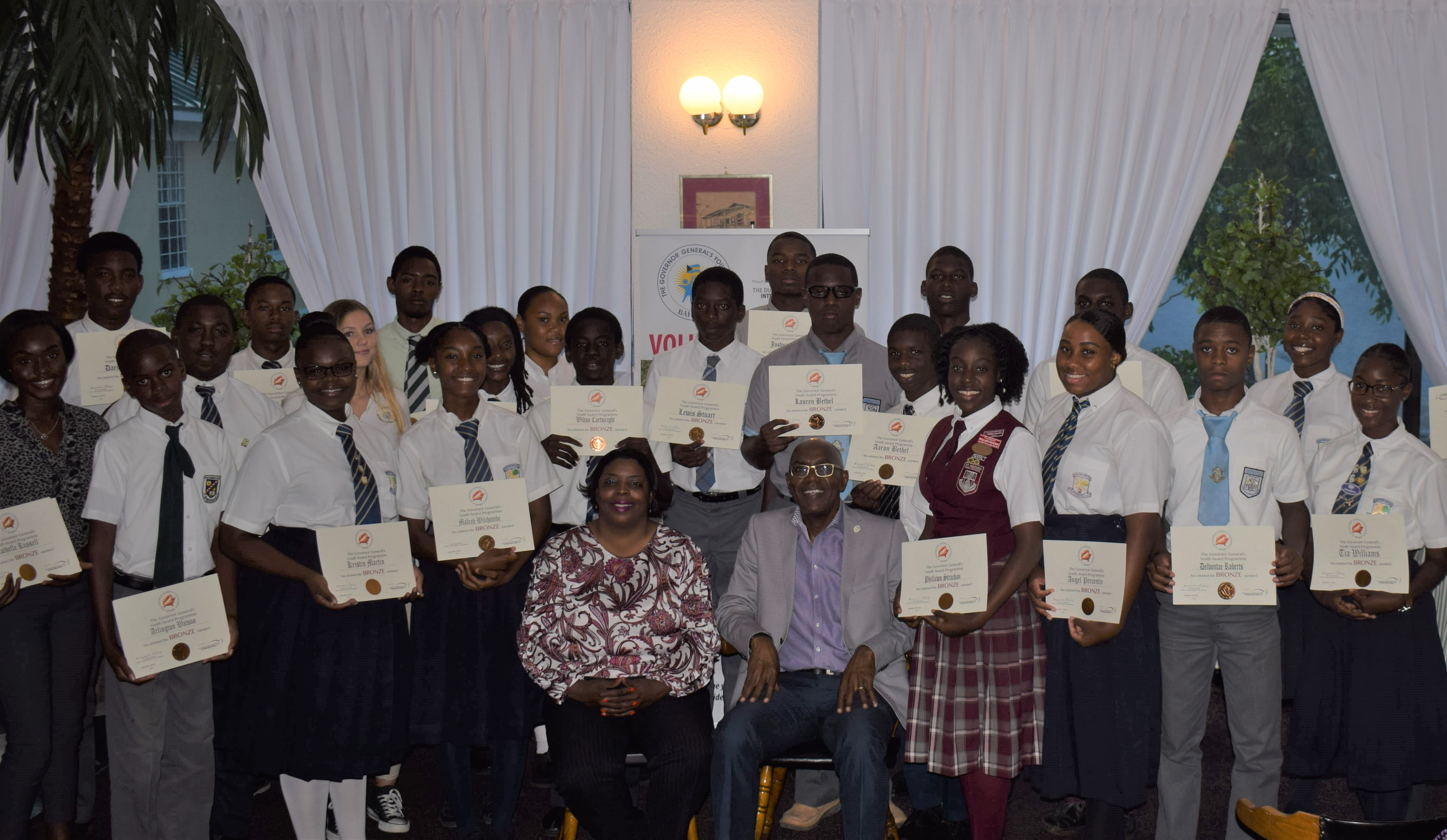 58 GB Youths shine as beacon of excellence with GGYA awards