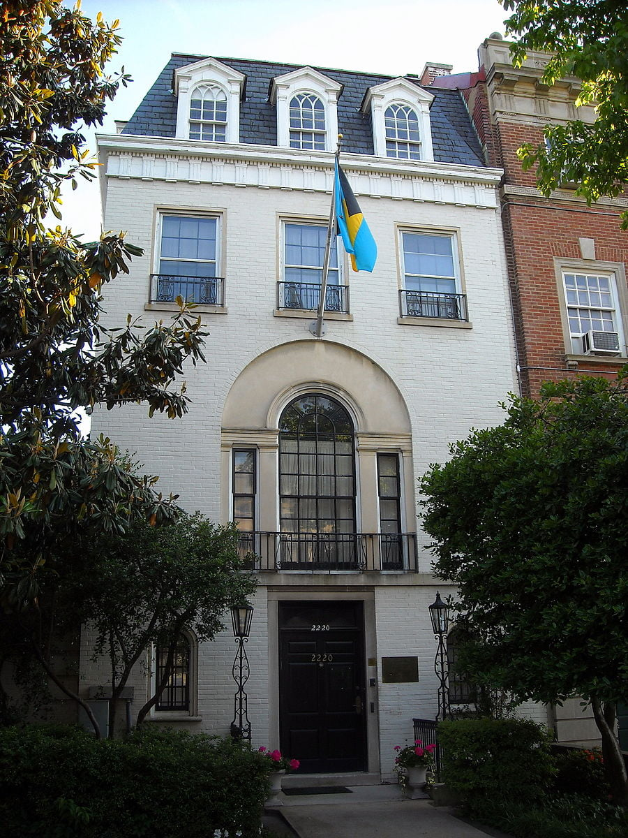 "Bahamas embassy in Washington used Independence funds to defray ""other expenses"""