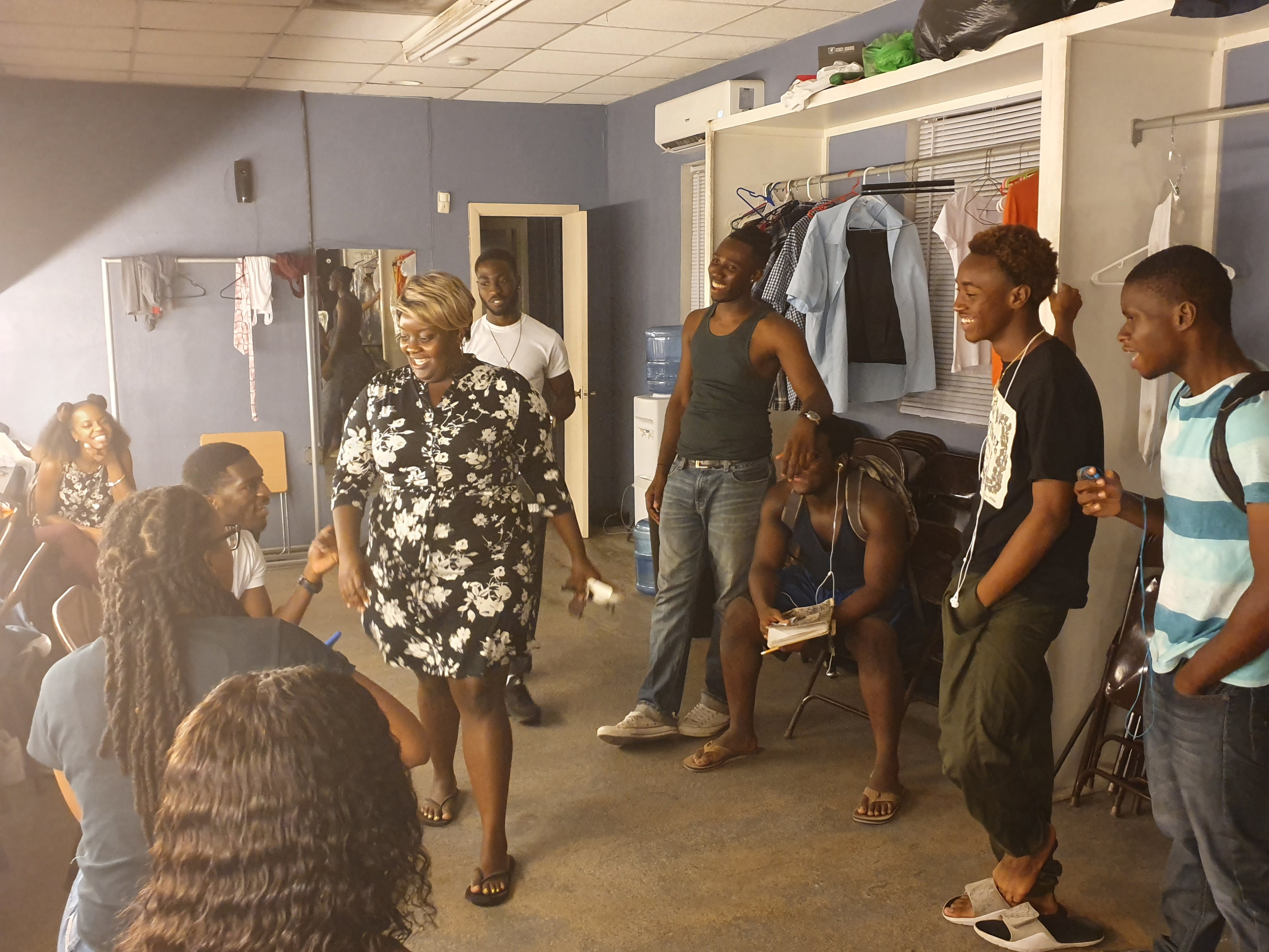 """Struggles and Dreams"" stage play highlights societal issues, encourages youth"