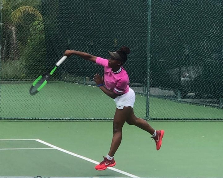 Clarke advances to singles and doubles final