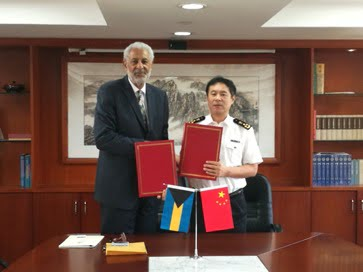 Ambassador Quant signs China agreement for import of aquatic animals
