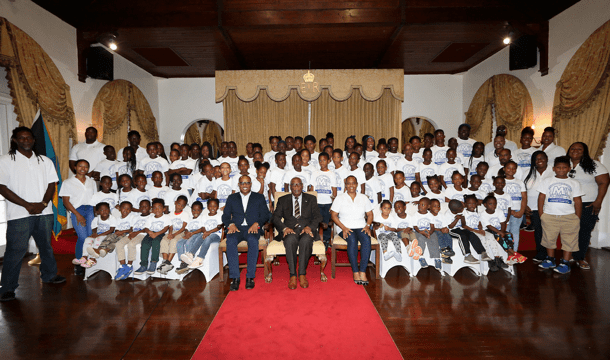Governor General welcomes Mount Moriah Constituency Summer Camp