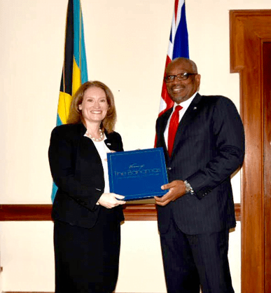 UK High Commissioner Designate presents letters of introduction to the PM