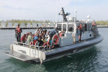 100 Haitian migrants apprehended in Exumas