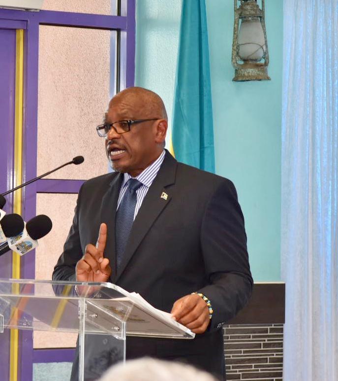 PM Minnis Explains the Unique Consortium to Transform Nassau Cruise Port