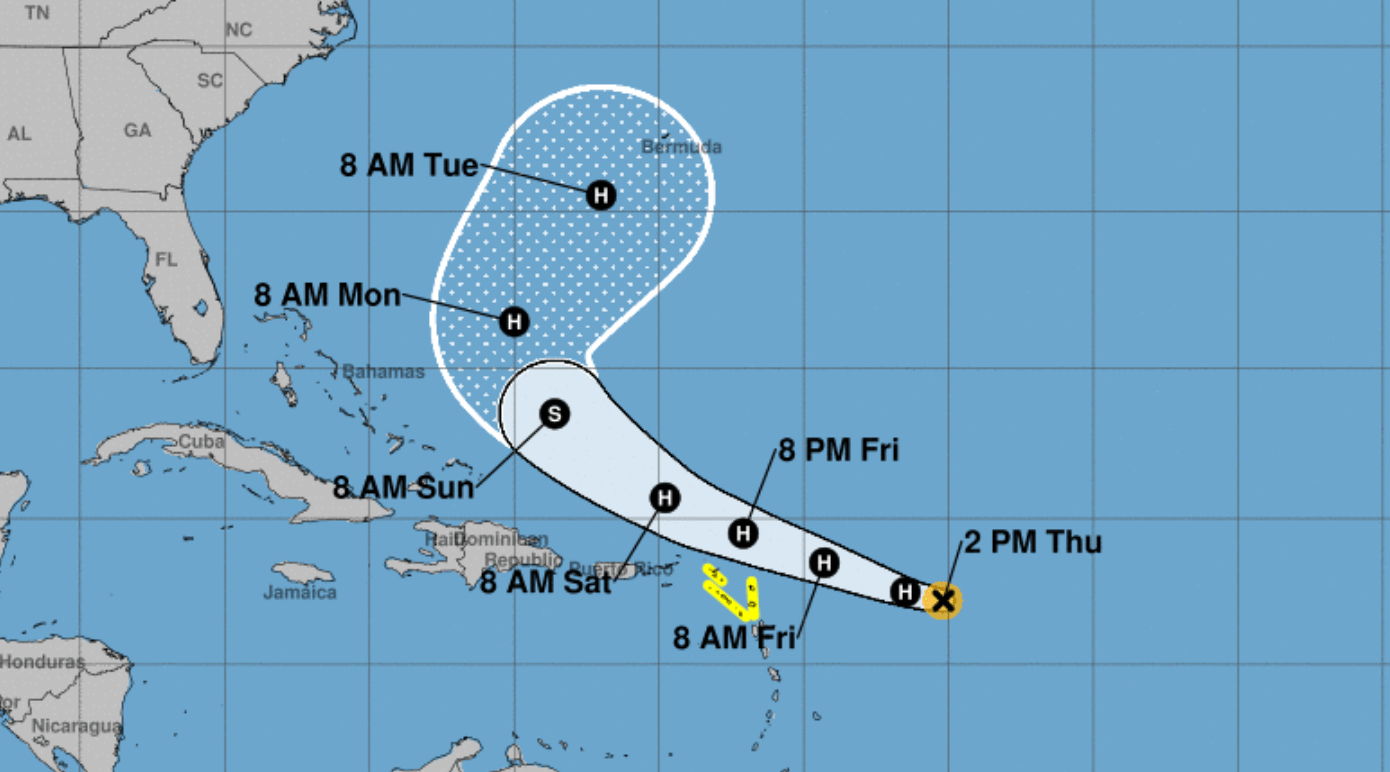 Meteorologists: Keep an eye on Tropical Storm Jerry