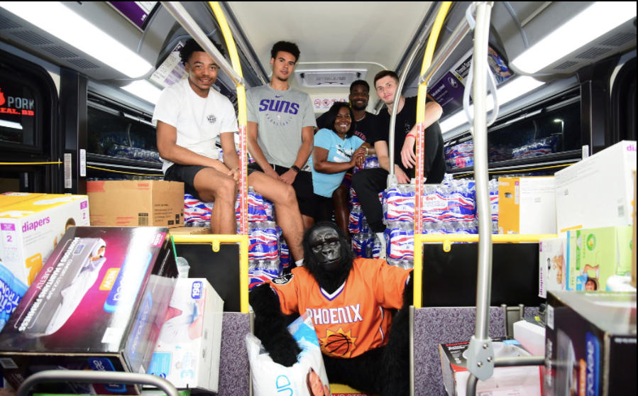 Bahamian NBA players continue to collect donations for Hurricane Dorian relief