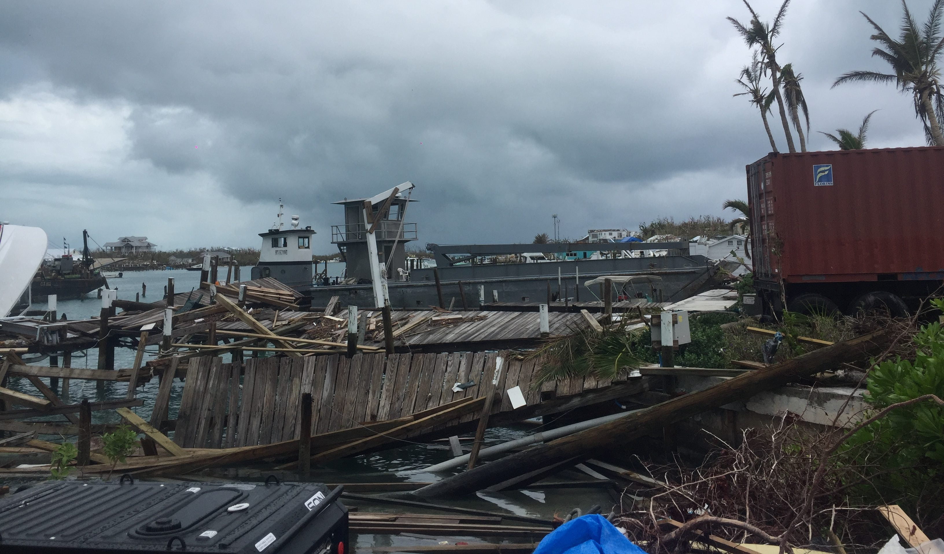 Debris management concerns persist in Abaco
