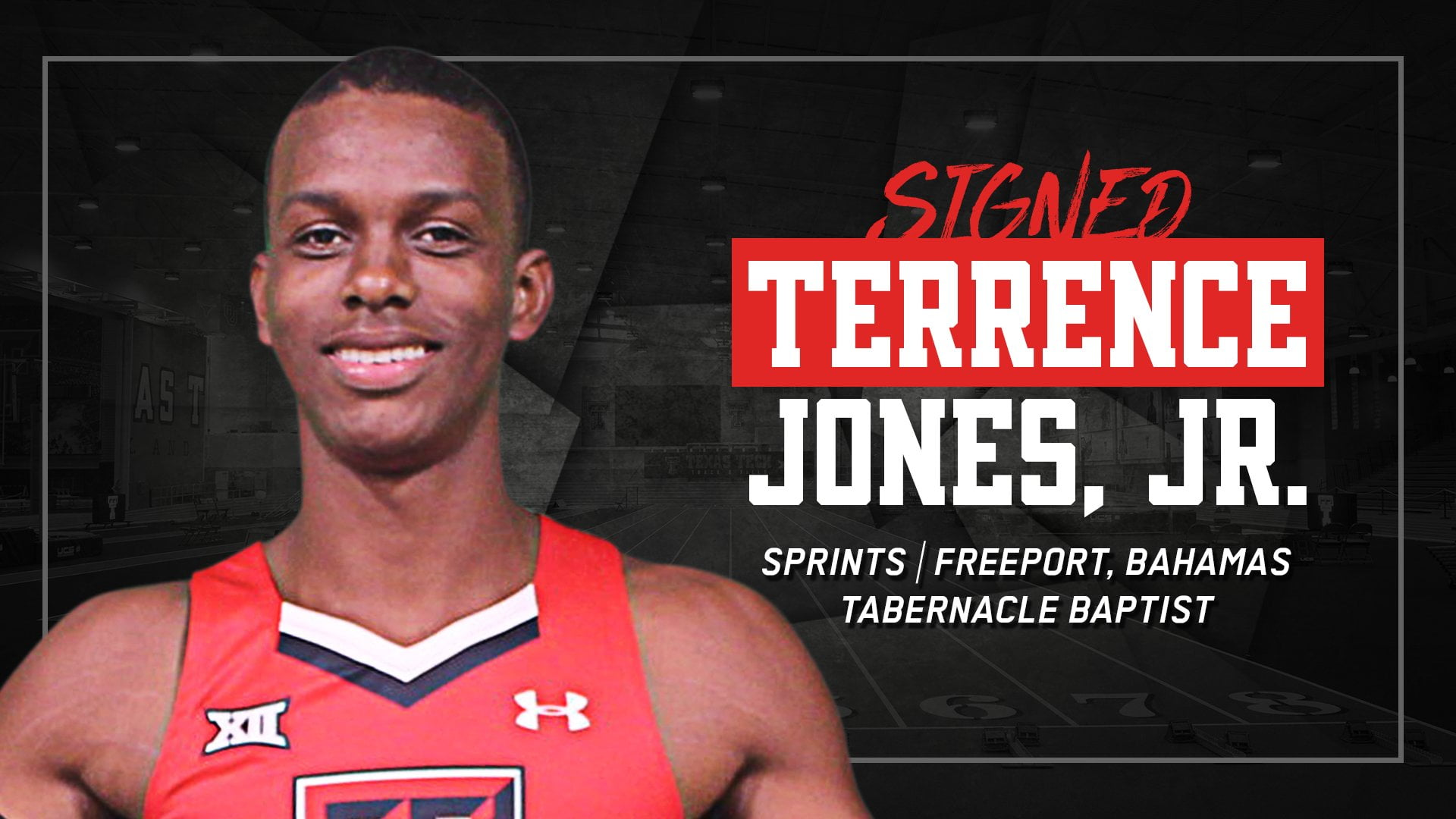 Jones signs with Texas Tech